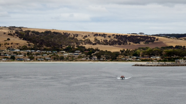 In February of 2018 we anchored outside Penneshaw on Kangaroo Island.