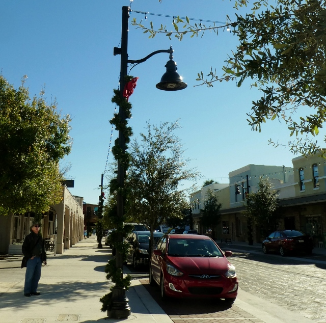 Nice old street lights.