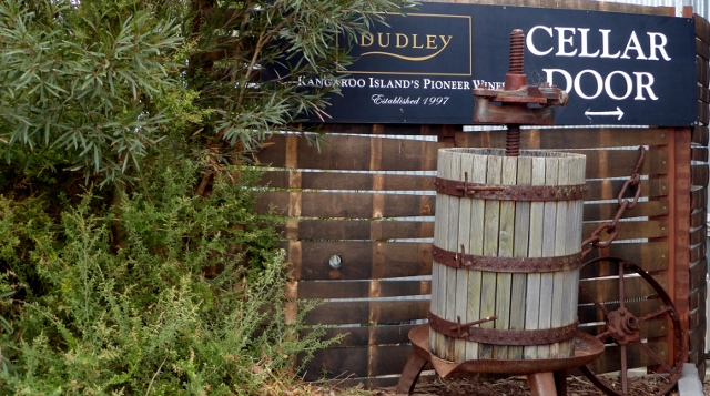 We stopped at the Dudley Winery, It is the oldest on Kangaroo Island.