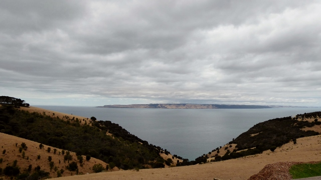 The views are nice on Kangaroo Island.