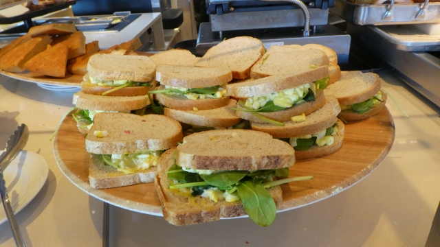 Custom made sandwiches at the Breadboard Station in the Lido.