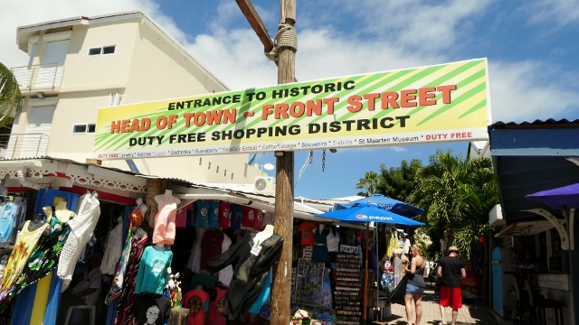 The Sint Maarten Market District
