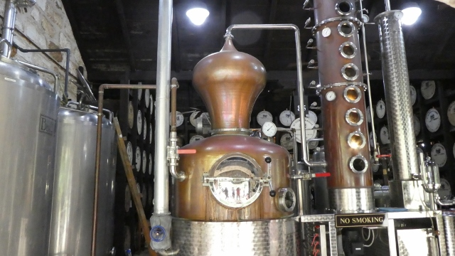 Saint Nicholas Abbey Rum Distillery