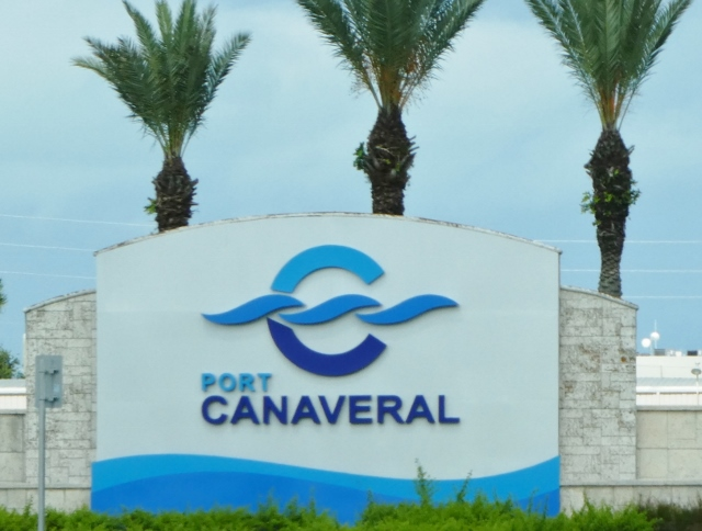 Port Canaveral is a cruise, cargo and naval port.