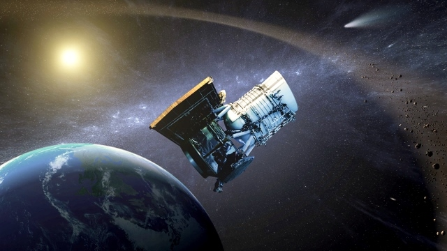 The Wide-field Infrared Survey Explorer (WISE).  NASA image