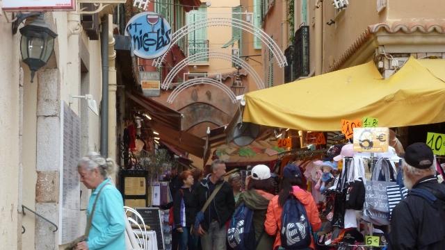 Street Market in Monte Carlo