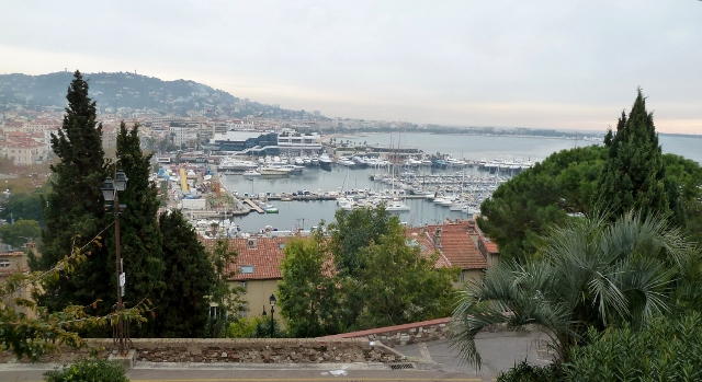 Cannes is full of luxury yachts and famous patrons.