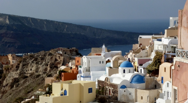 Another gorgeous view of Oia.