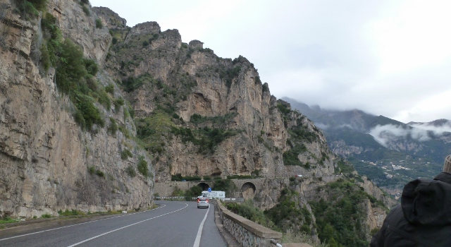 Driving the Amalfi Coast is an adventure !  The views are fabulous!