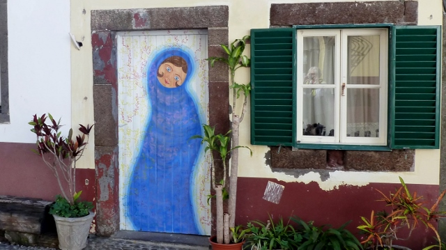 Many of the Doors in Zona Velha, Funchal's Old Town, Are Really Works of Art