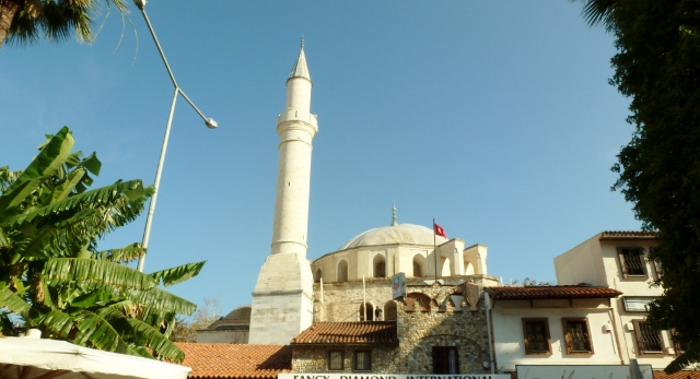 Mosque near the port