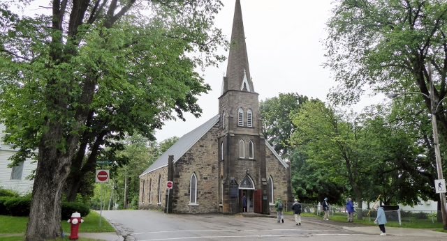 The Anglican Church of St. George in Sydney, Nova Scotia