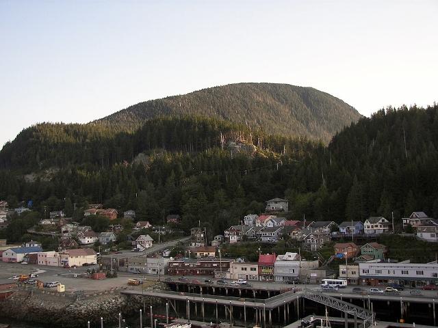 Ketchikan, Alaska.           (Wknight94 - Own work CC BY-SA 3.0)