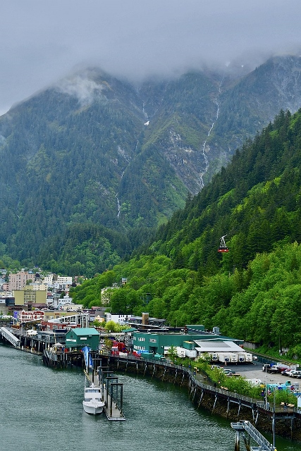 Juneau's Downtown Historic District.  (Ashley98lee  - Own work  CC BY-SA 4.0)