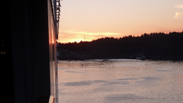 on the dock in Kodiak, Alaska