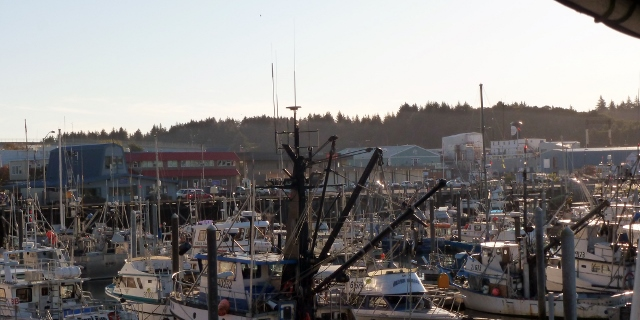 Kodiak-walking into town from the harbor