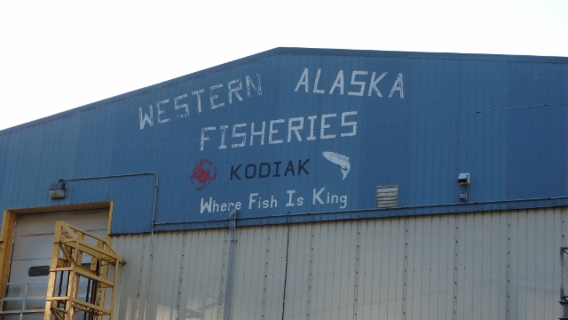 "Kodiak , Alaska  ""Where Fish Is KIng"""