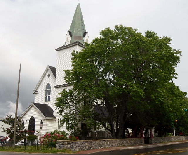 St John the Evangelist Church in Corner Brook, Newfoundland