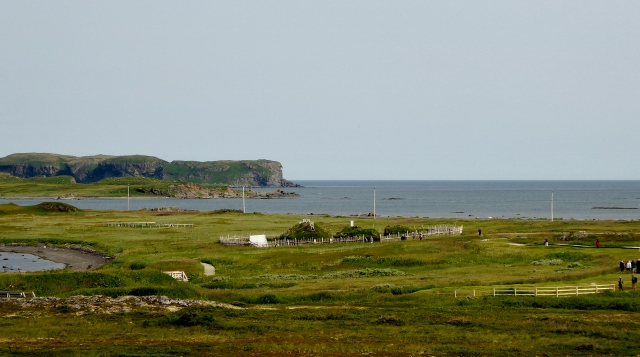 L'Anse aux Meadows in St. Anthony, Newfoundland